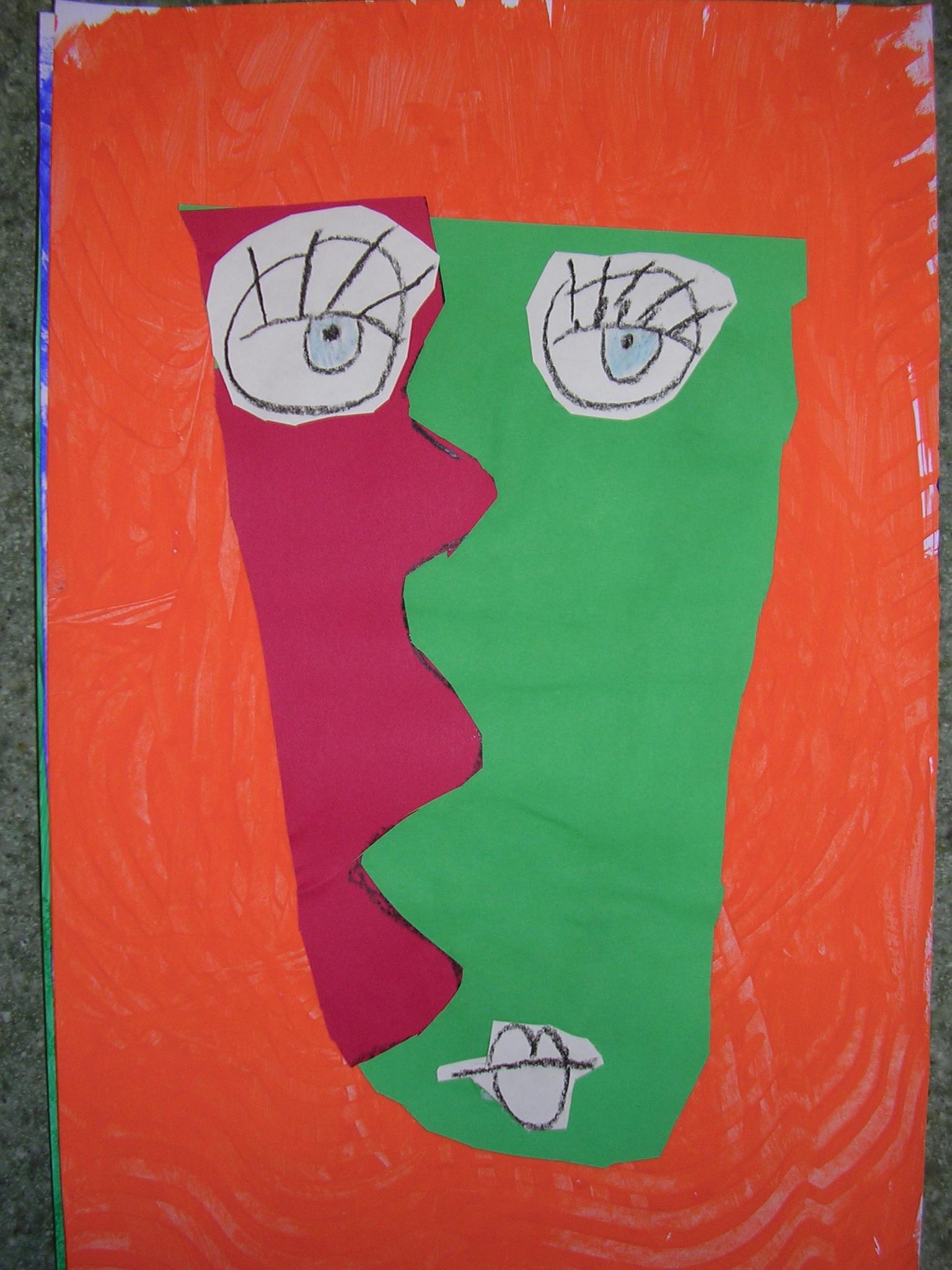 Marie Max Fritz Cubist Portraits