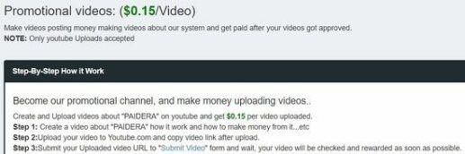Paidera.com vidéos