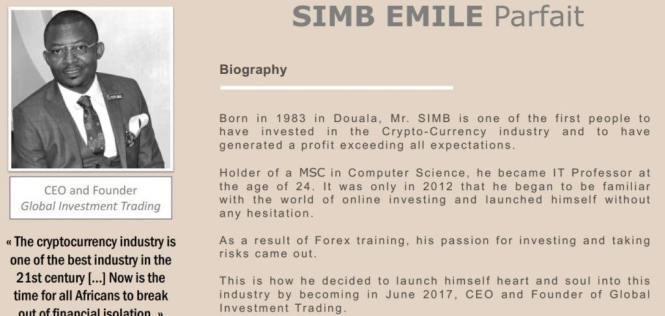 Simb Emile Parfait