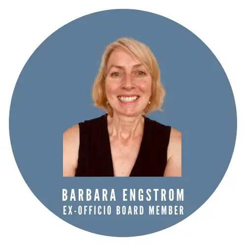 Photo of Barbara Engstrom. KCLL Foundation ex-officio board member and president of the King County Law Library.