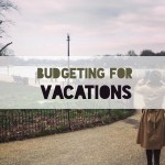 Budgeting for Vacations