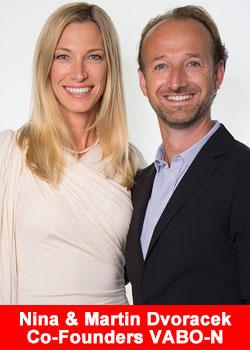 Nina and Martin Dvoracek Co-Founders Vabo-N