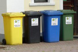 Segregowanie śmieci w domu