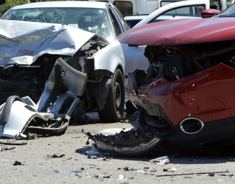 multiple car accident