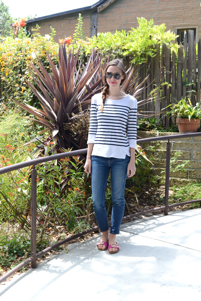 casual outfit in Big Sur, M Loves M