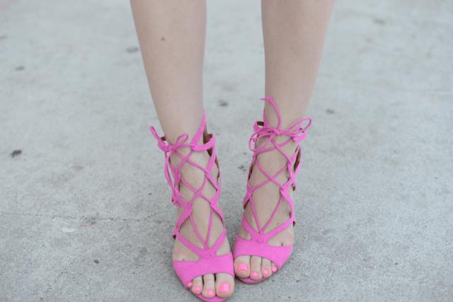 JustFab heels,  M Loves M