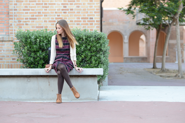 back to school outfit via M Loves M