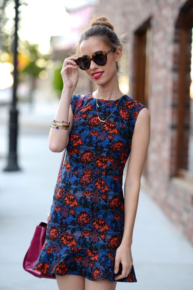cap sleeve dress with drop waist, M Loves M @marmar