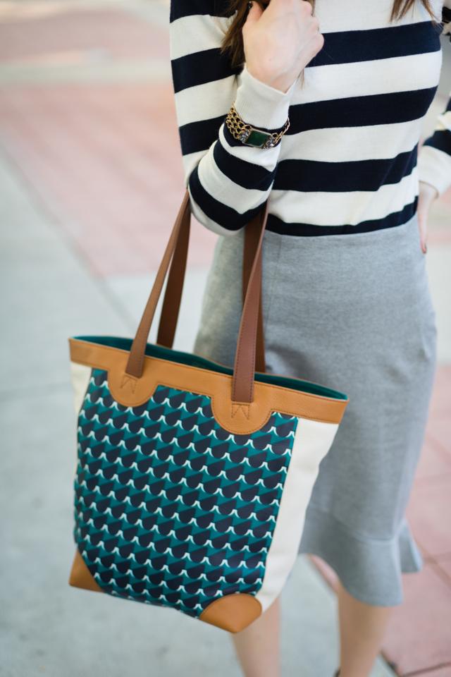 Eley Kishimito x Fossil geometric shopper tote on M Loves M @marmar