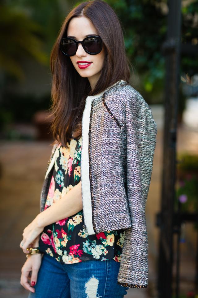 tweed jacket from greylin via M Loves M @marmar