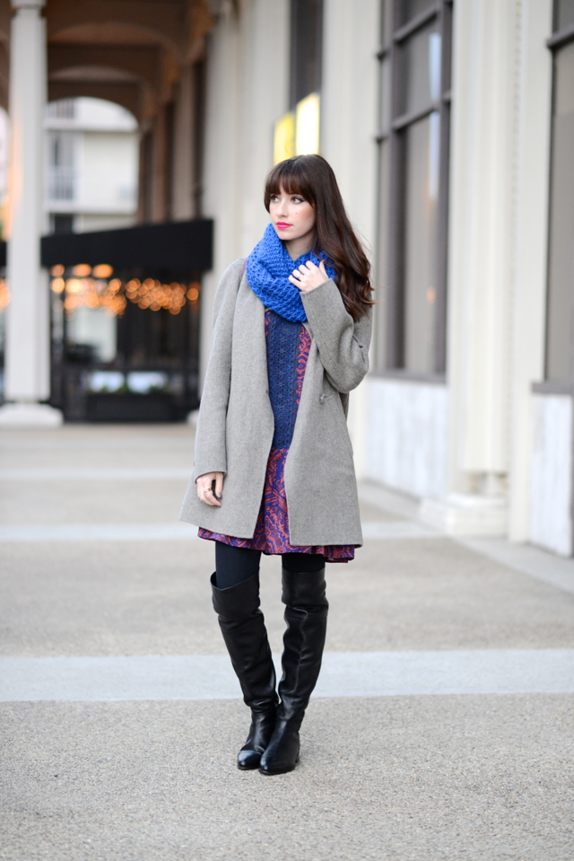 bundled up outfit M Loves M @marmar