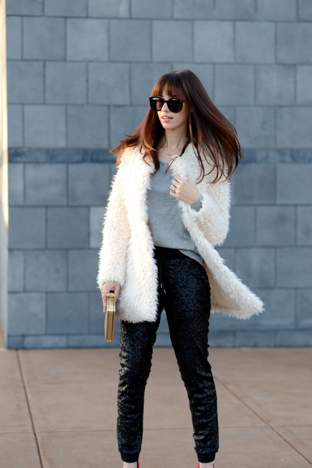 black sequin pants on M Loves M @marmar