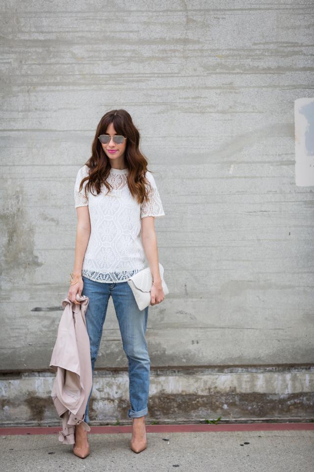making boyfriend jeans more feminine M Loves M @marmar