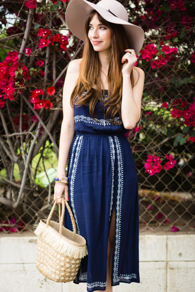 pretty embroidered dress for spring from nordstrom on M Loves M @marmar