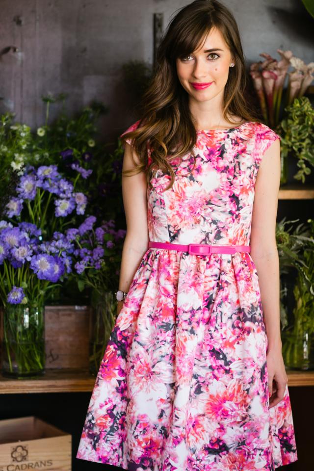 eliza j floral dress from nordstrom M Loves M @marmar