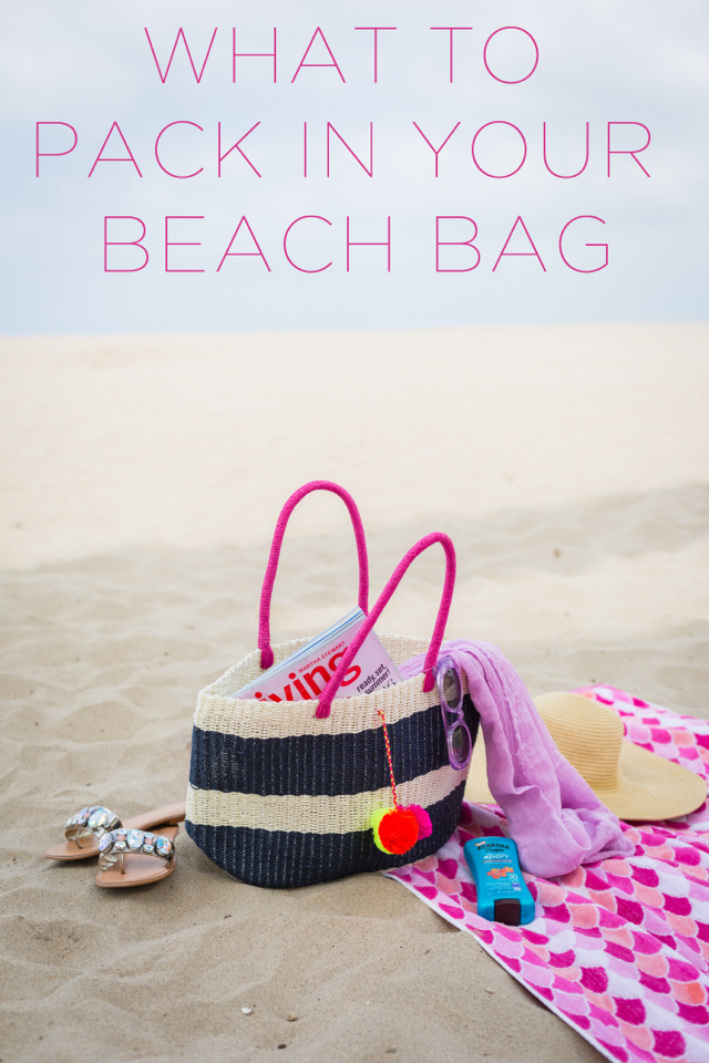 what to pack in your beach bag M Loves M @marmar