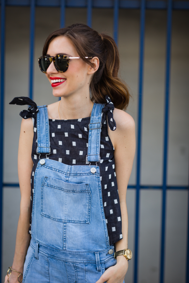 cute overalls outfit M Loves M @marmar