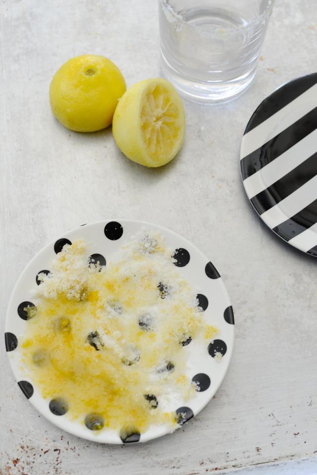 Lemon Rosemary & Cucumber Cocktail M Loves M @marmar