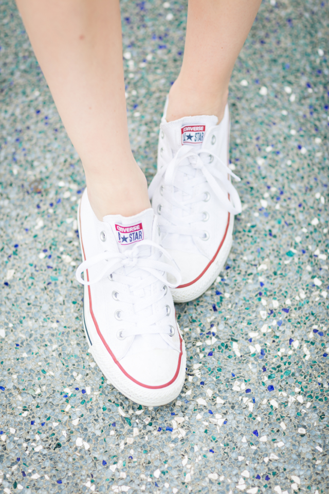 how to style white converse sneakers M Loves M @marmar