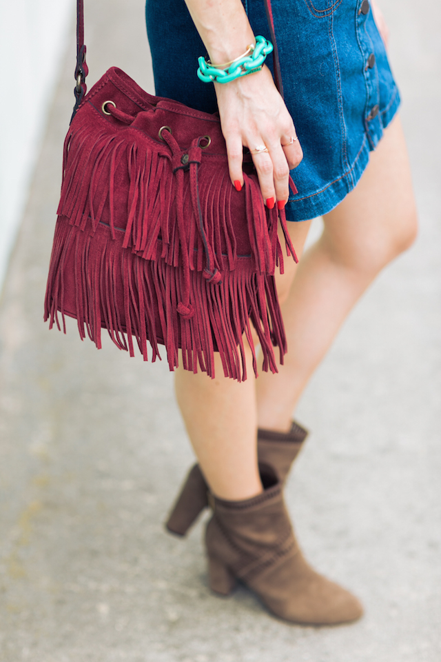 berry fringe bag by Patricia Nash M Loves M @marmar