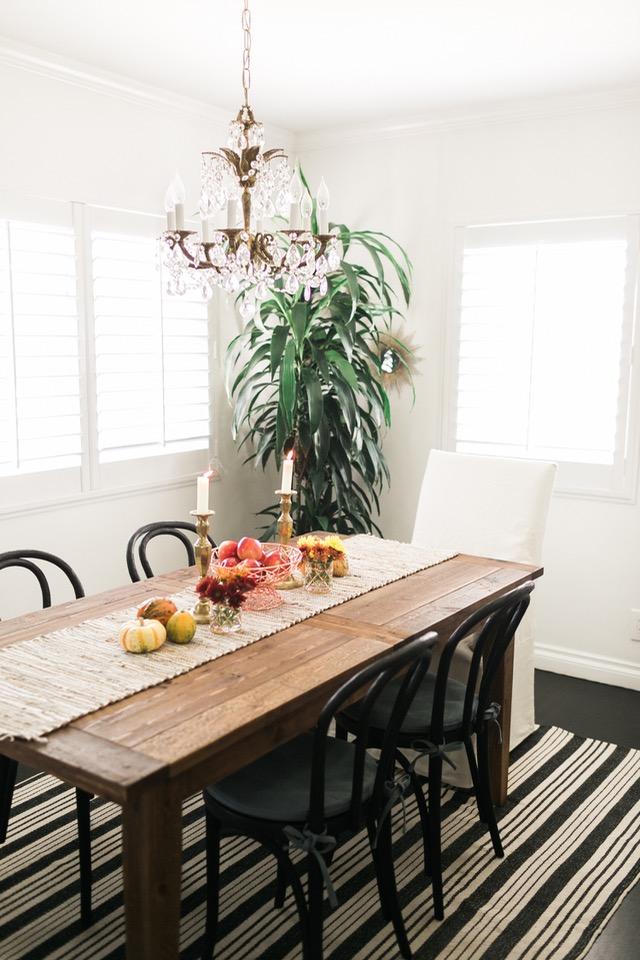 festive fall dining table M Loves M @marmar