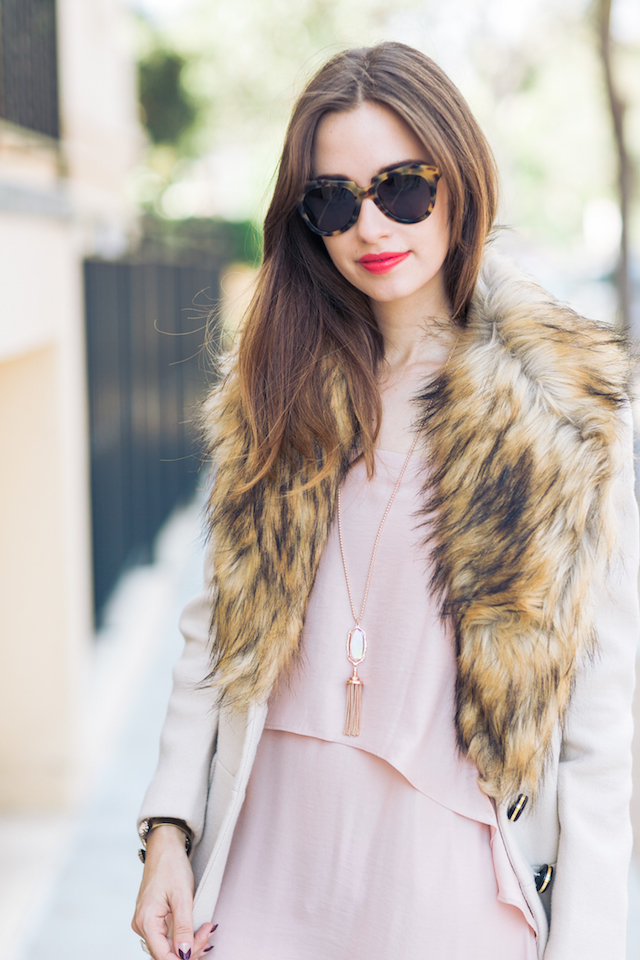 beige and pink fall outfit inspiration M Loves M @marmar