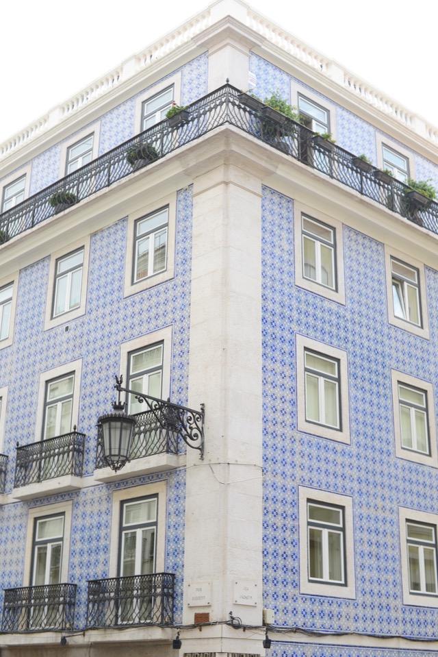 gorgeous tile buildings in Lisbon Portugal M Loves M @marmar