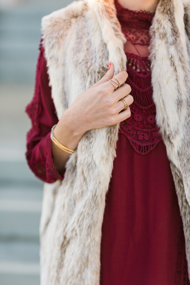 bohemian lace topshop dress from Nordstrom M Loves M @marmar