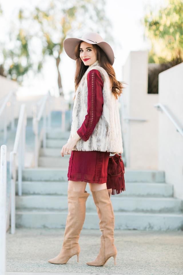 a bohemian fall outfit M Loves M @marmar