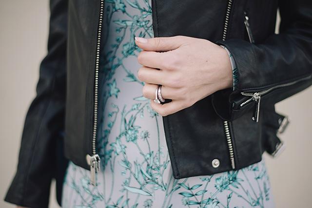 black leather jacket M Loves M