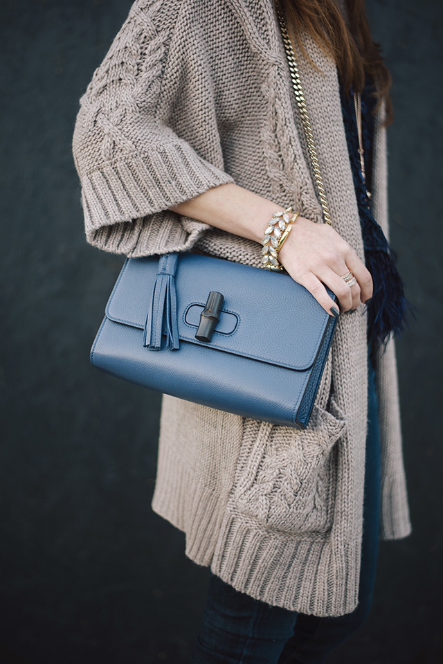 blue gucci chain strap bag M Loves M