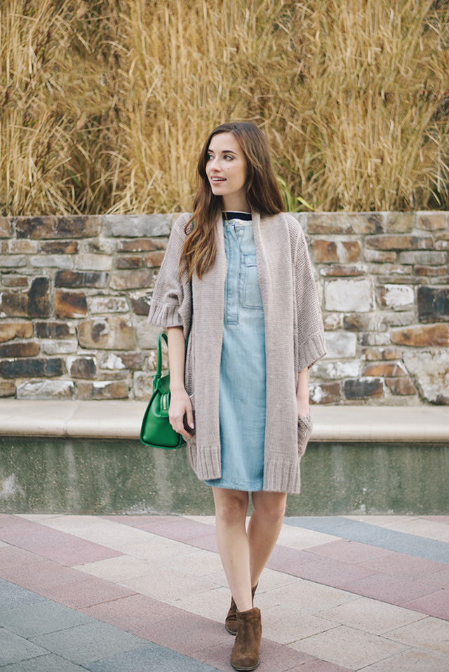 chambray shirtdress from j.crew on M Loves M