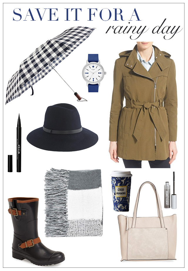 rainy day essentials for el niño M Loves M