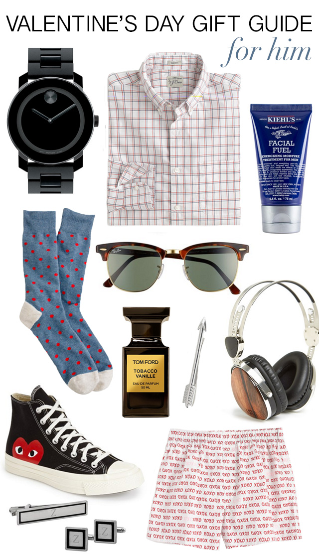 Valentine's day Gift Guide for Him 2016 M Loves M