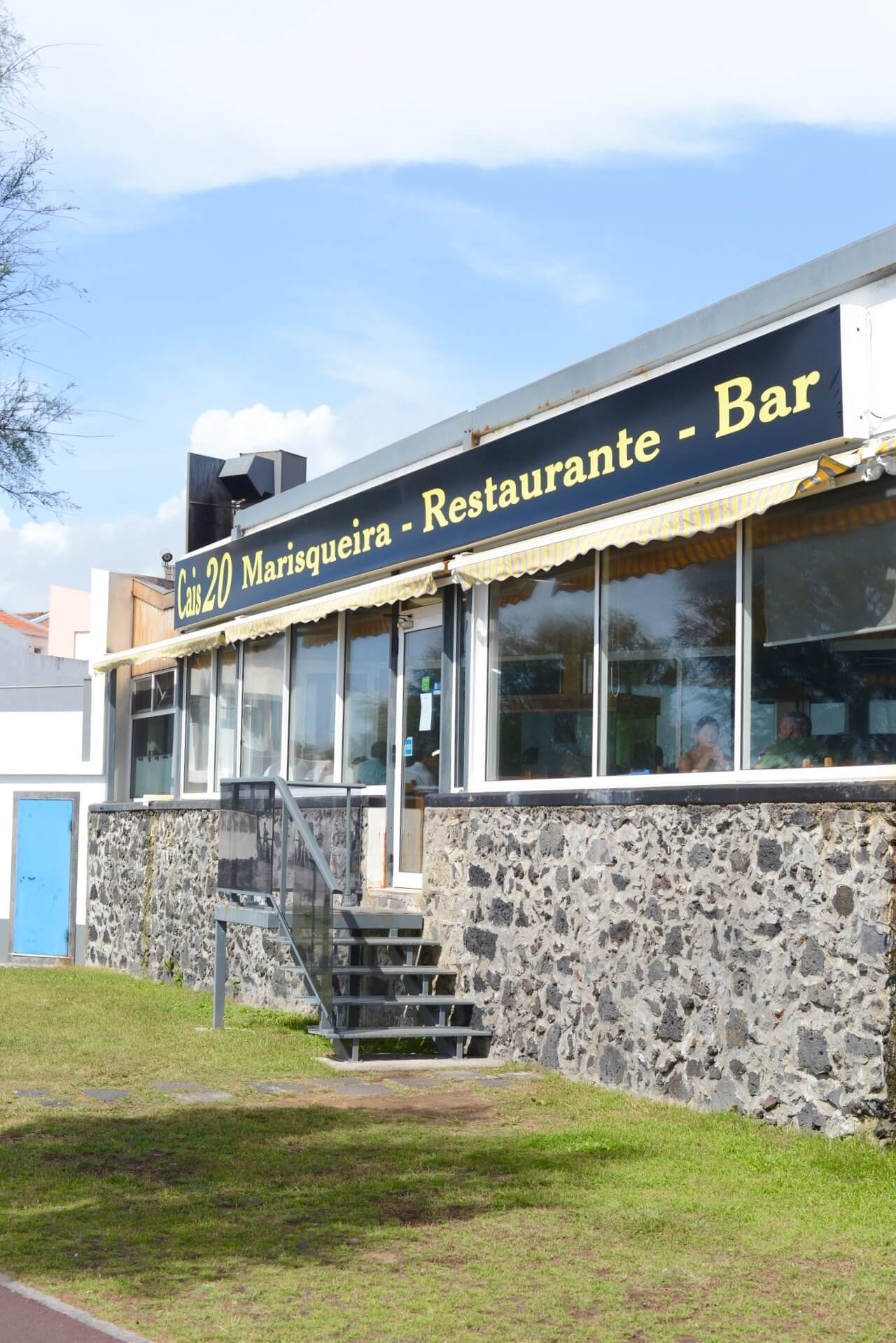 Cais 20 in Sao Miguel is a great restaurant for lunch or dinner