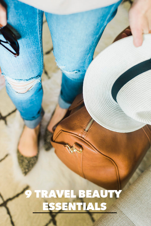 9 Travel Beauty Essentials by M Loves M
