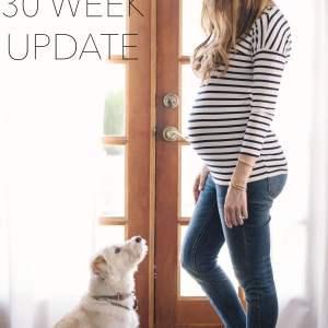 30 Week Pregnancy Update M Loves M