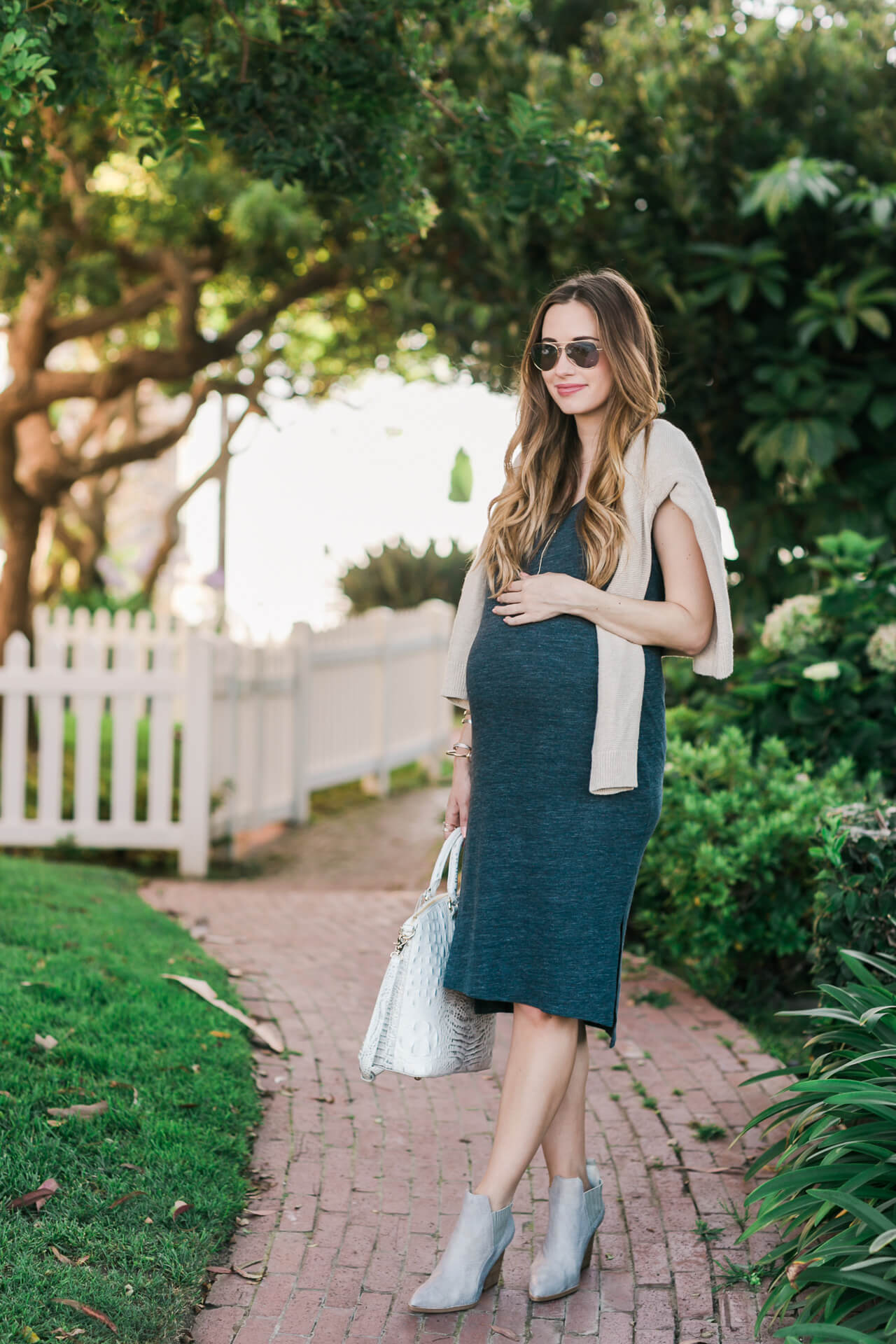 the comfiest jersey dress that isn't maternity