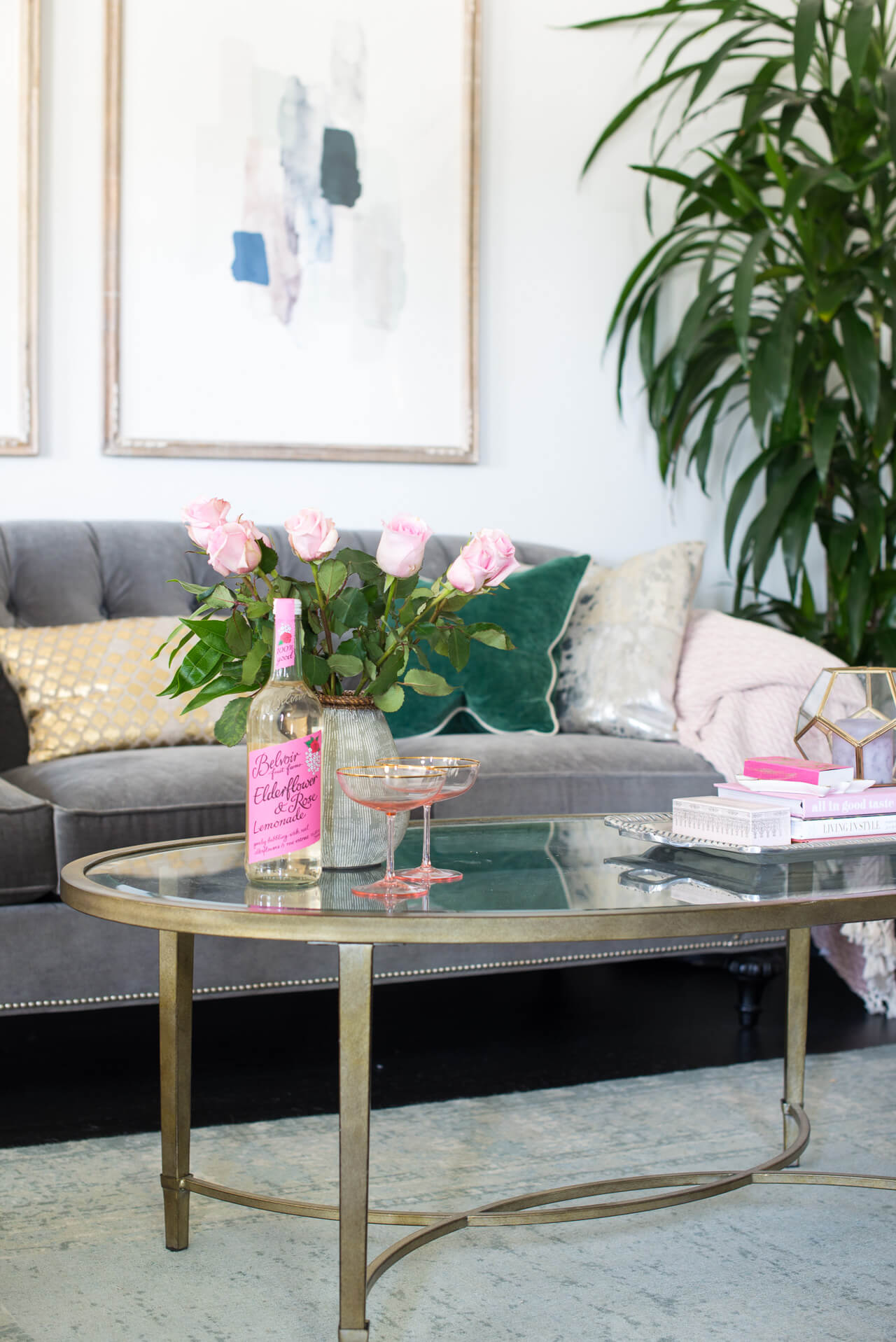 tips for styling a living room