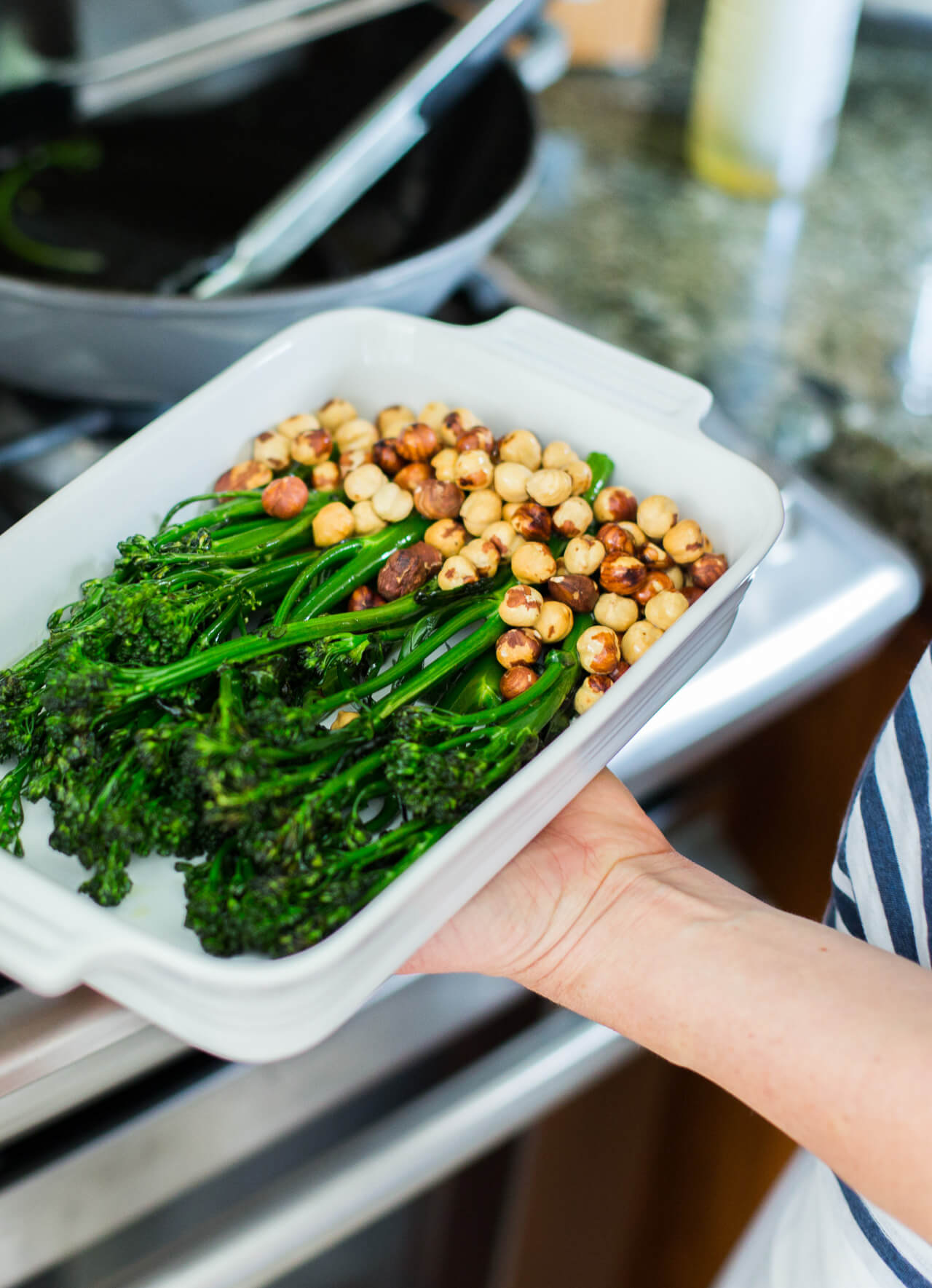 get the recipe for this easy and healthy roasted broccoli side dish