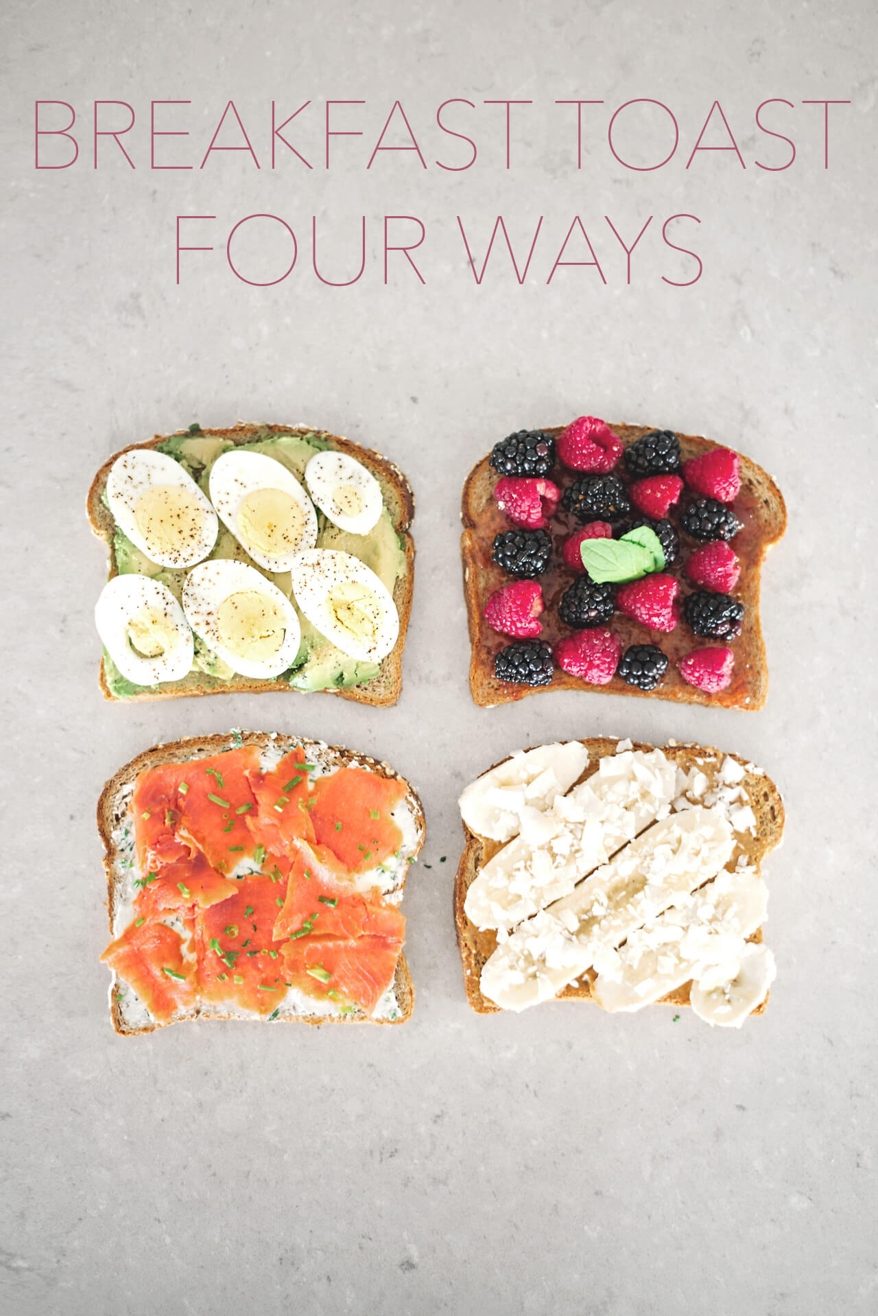 four go to breakfast toast combos to try for breakfast
