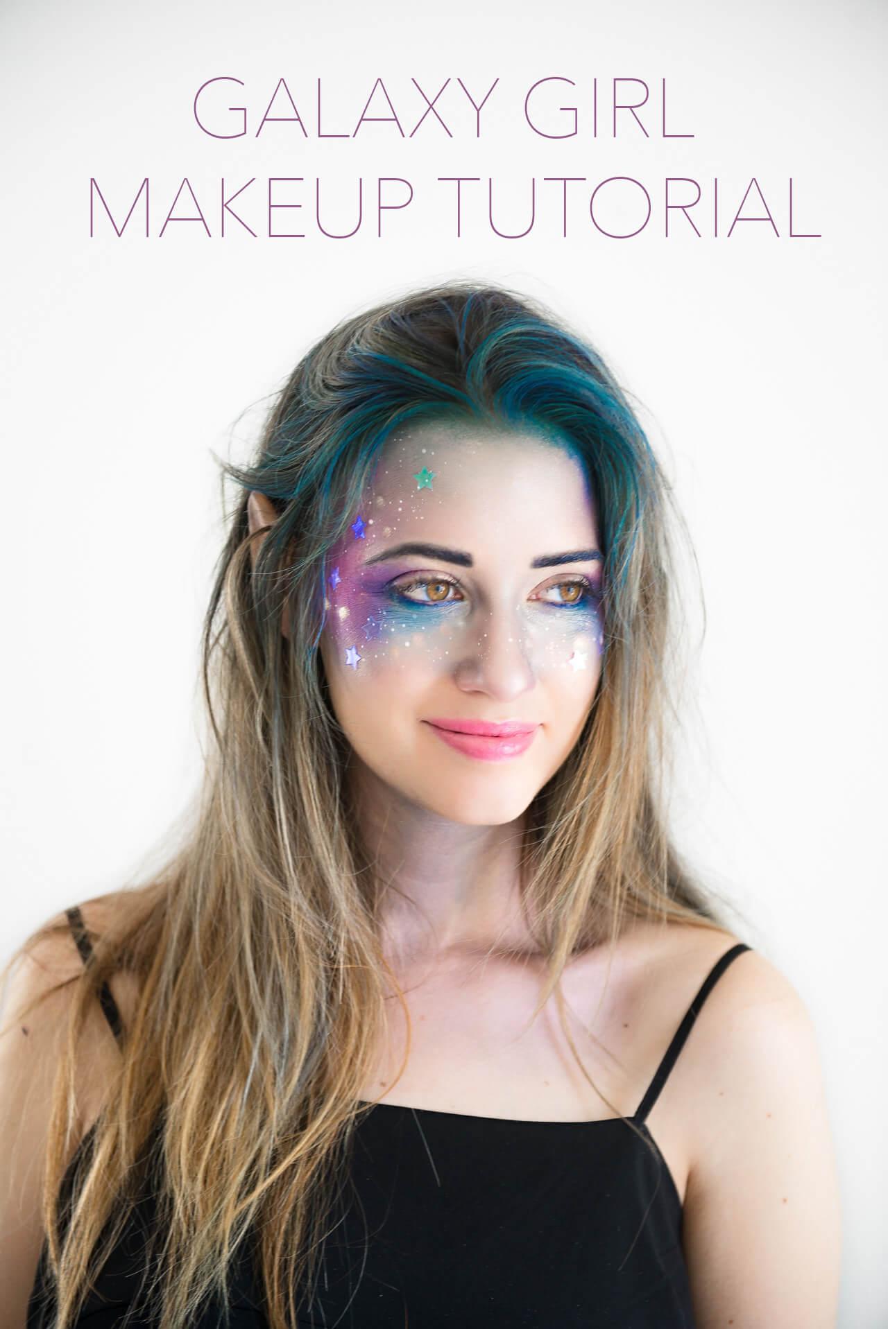 Galaxy Girl Makeup Tutorial - M Loves M