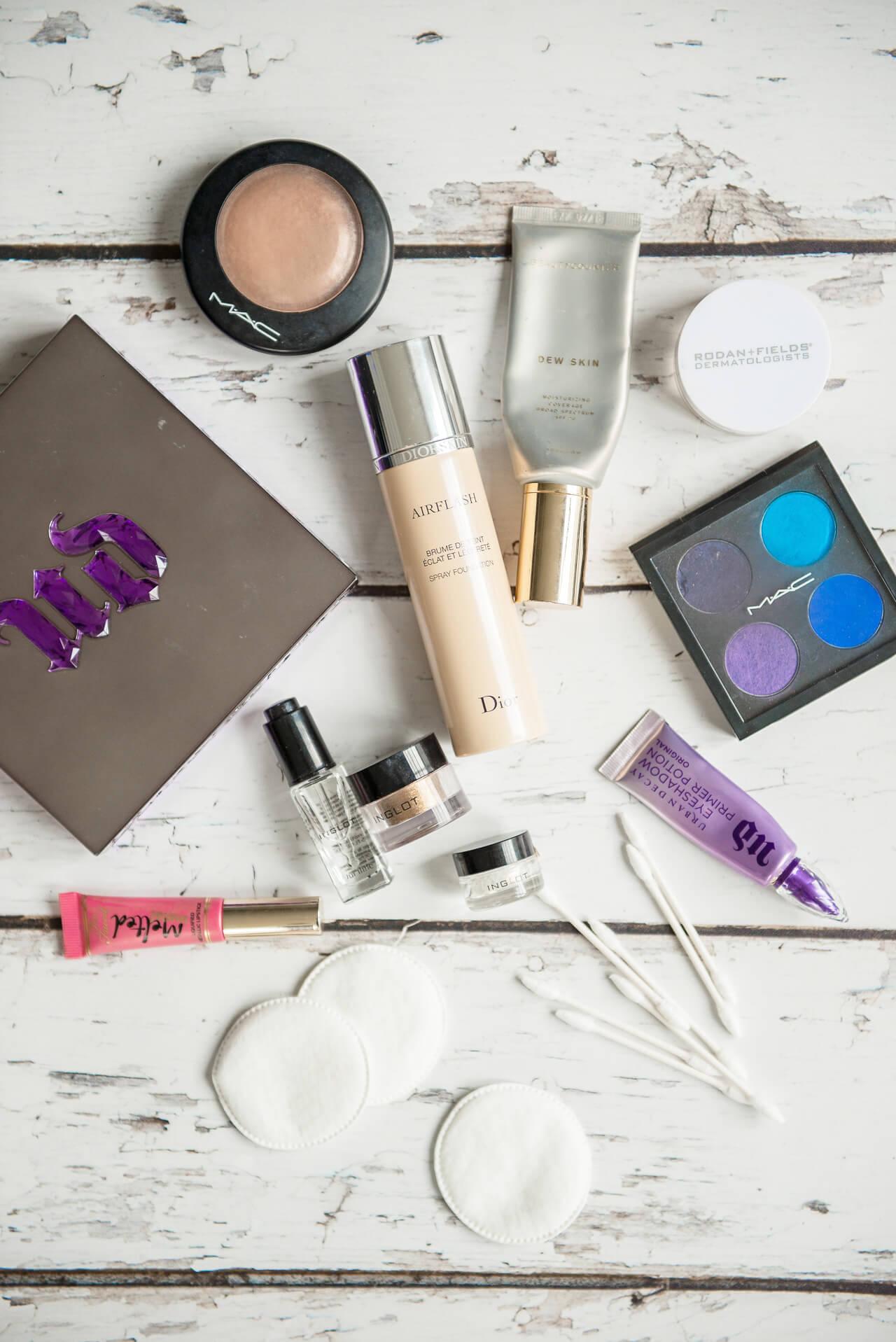 halloween makeup tutorial using q-tips