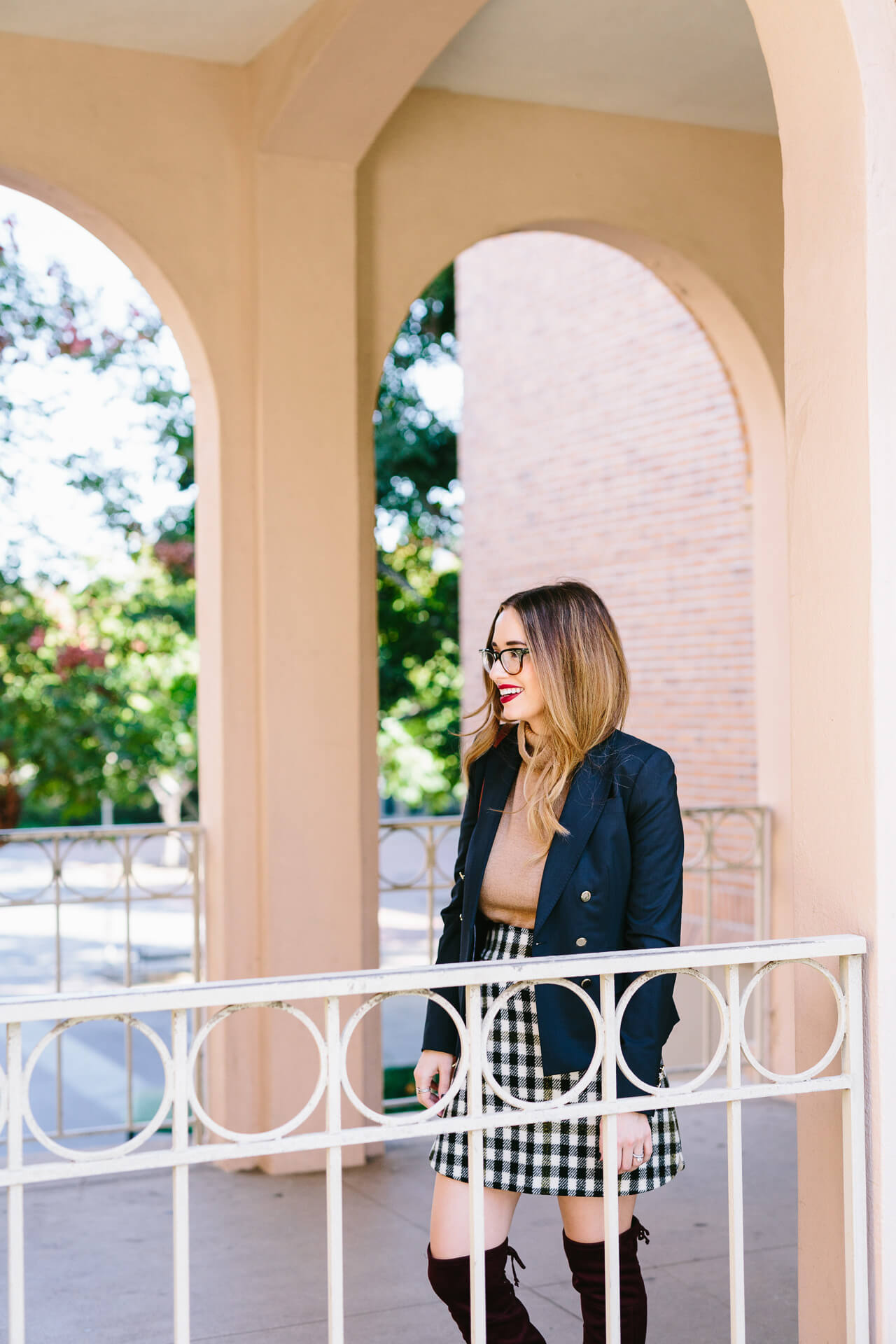 preppy fall outfit inspiration from M Loves M @marmar
