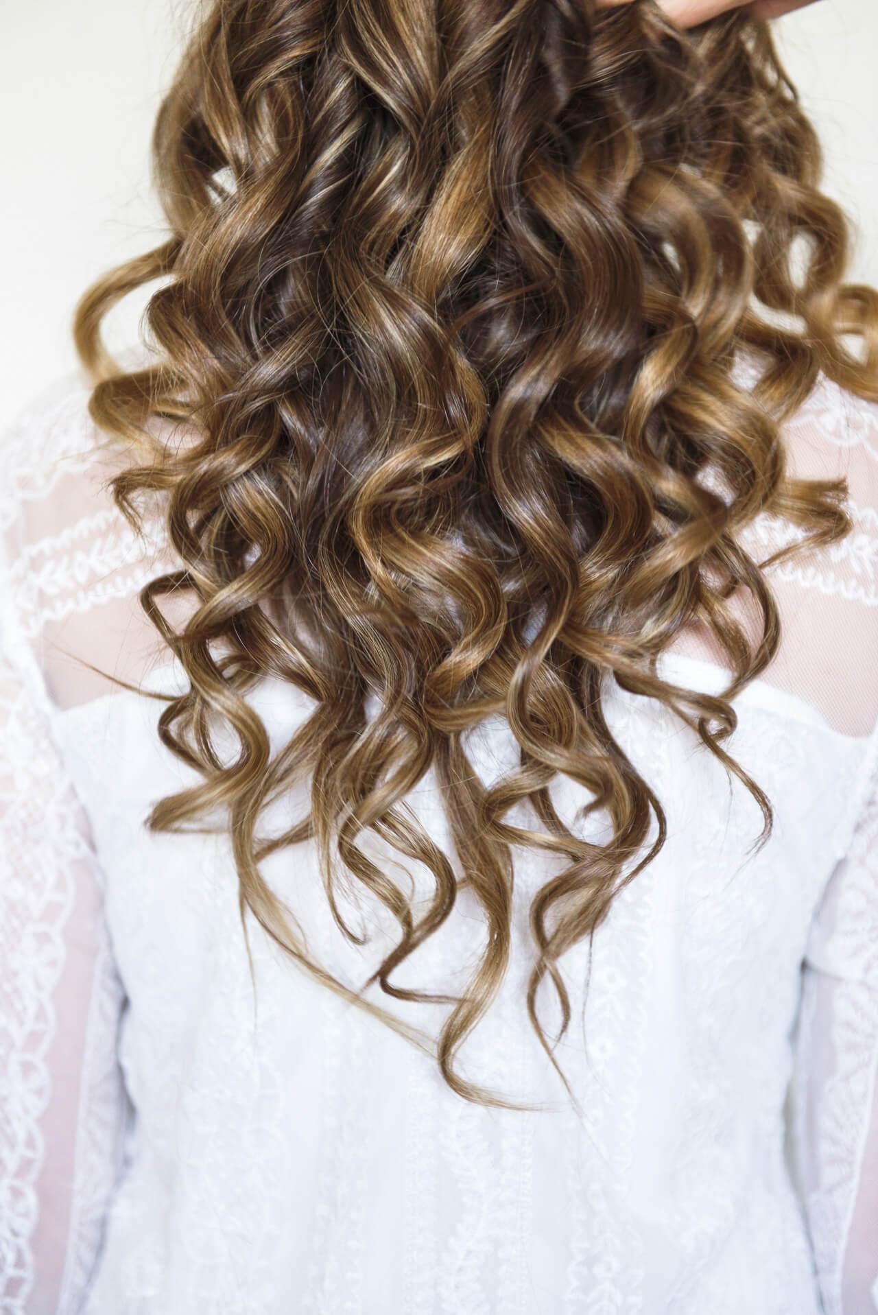 lots of spiral curls