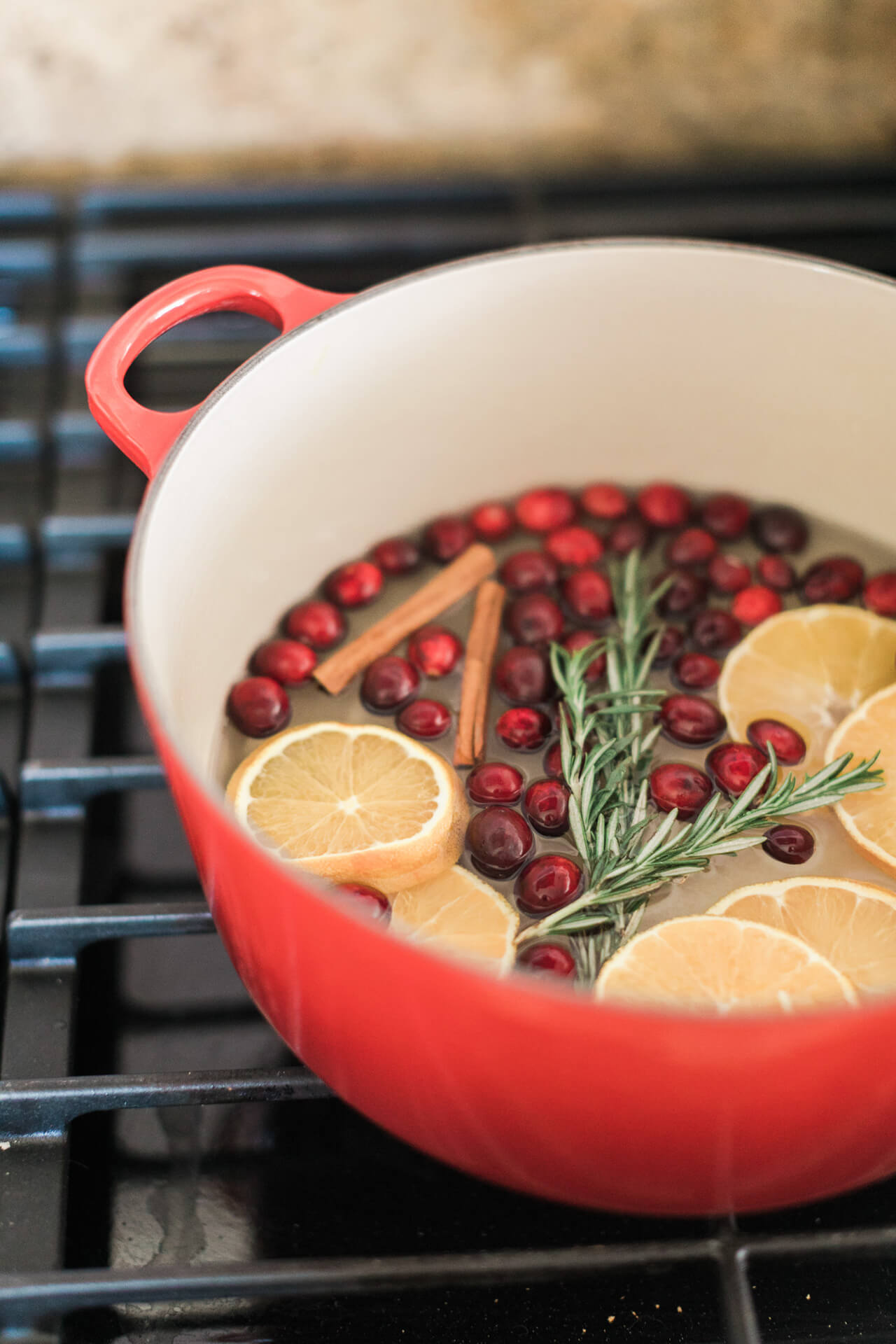 make your house smell like christmas with this simmering pot