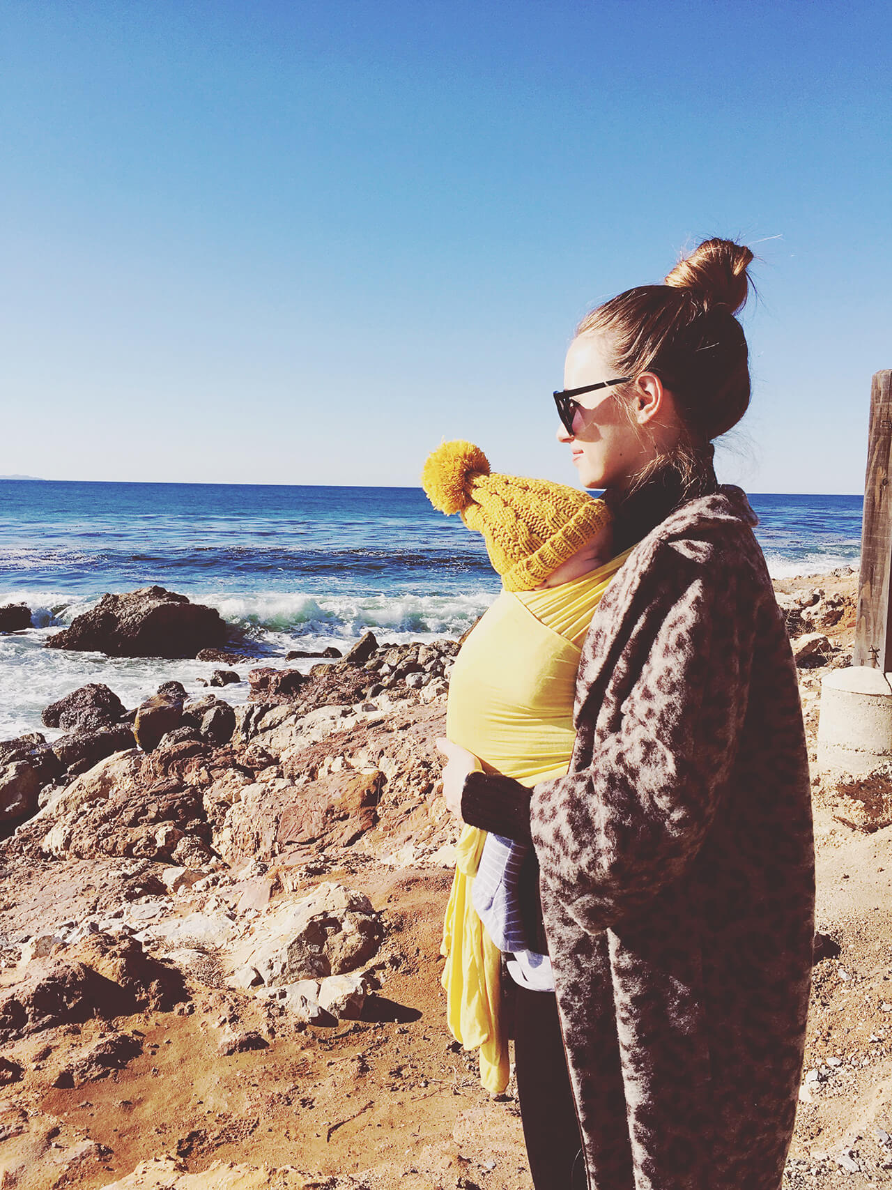 Mara and Augustine at the Beach- December 2016