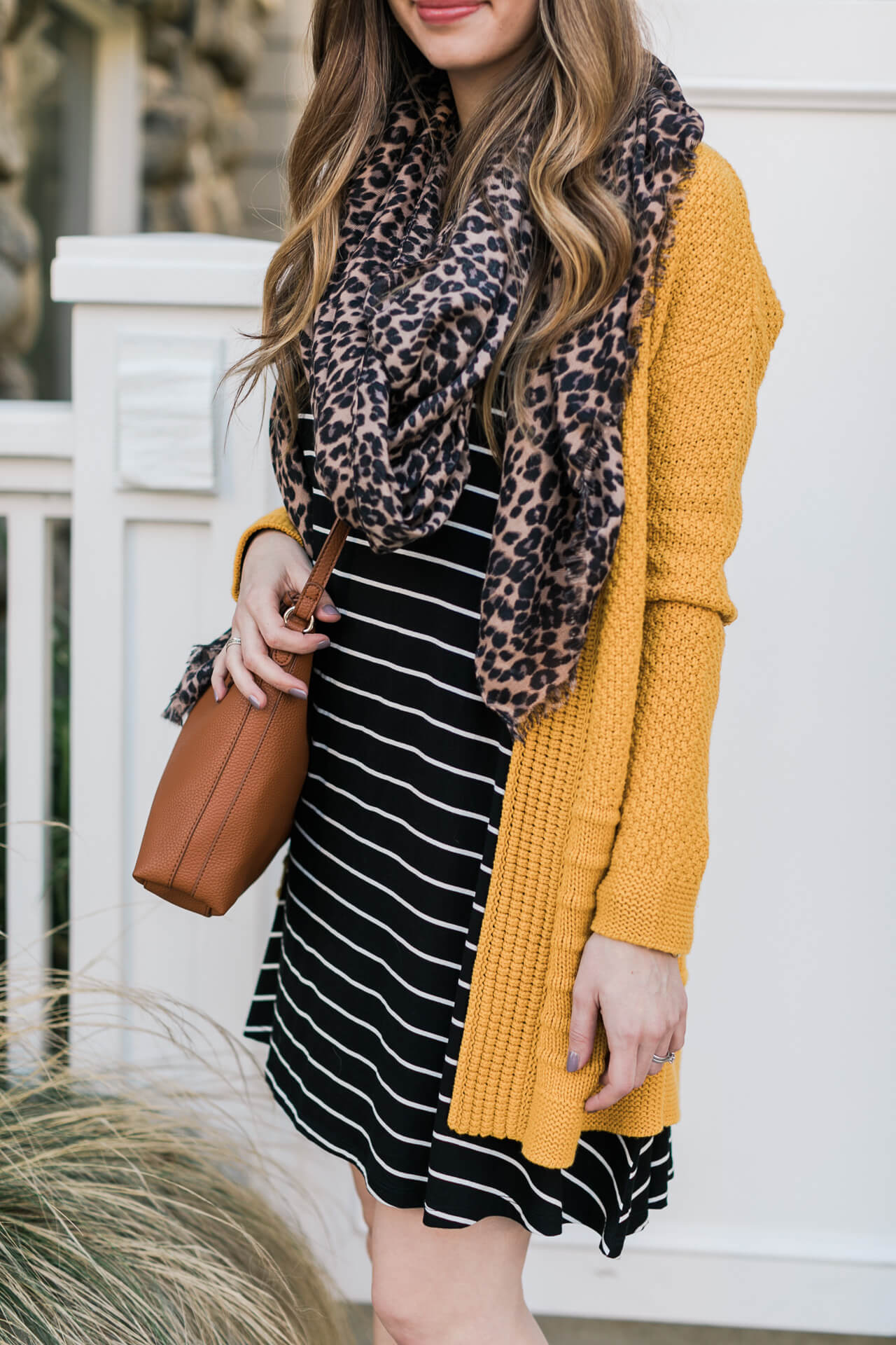 print mixing with stripes and leopard animal print