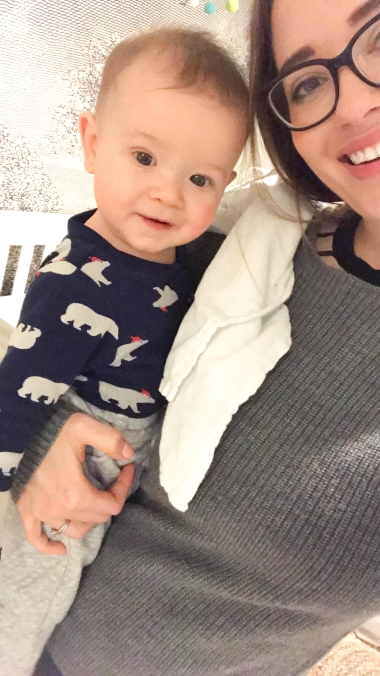 Baby Augustine and Mara