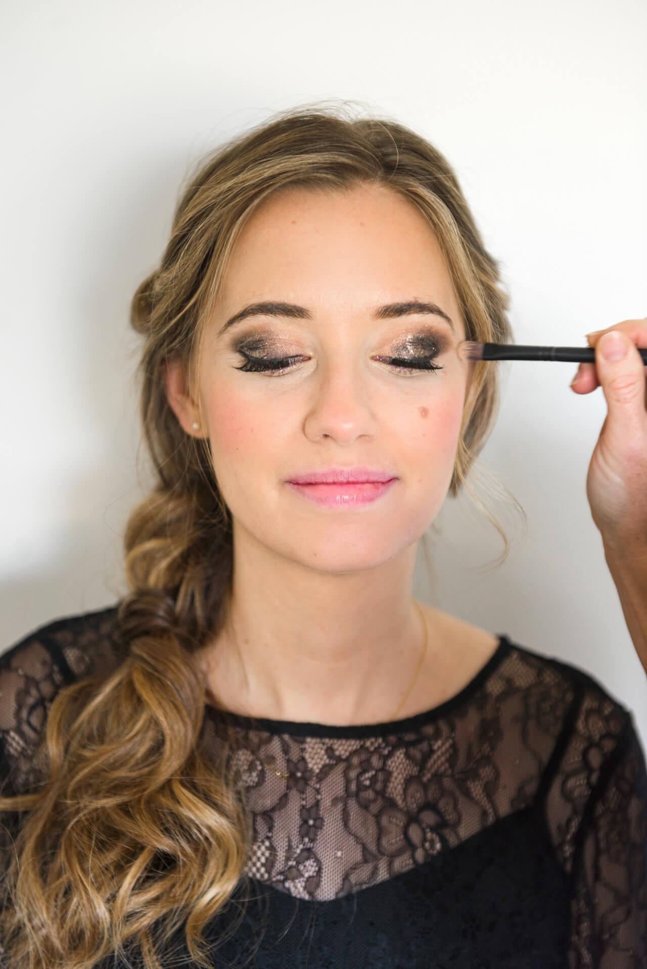 smoky date night eye makeup